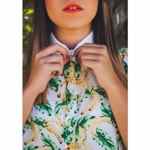 "Image of 🌴🍌""BANANAS/PALMS"" Camisa."