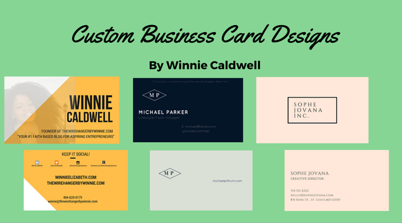 Image of Business Card Designs! (DESIGN ONLY)