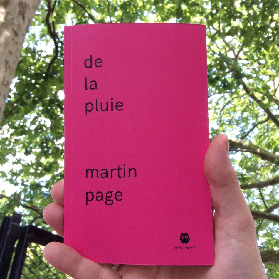 Image of De la pluie - édition papier