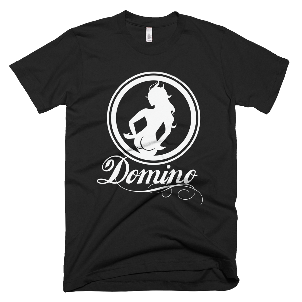 Image of BLACK DOMINO T-SHIRT
