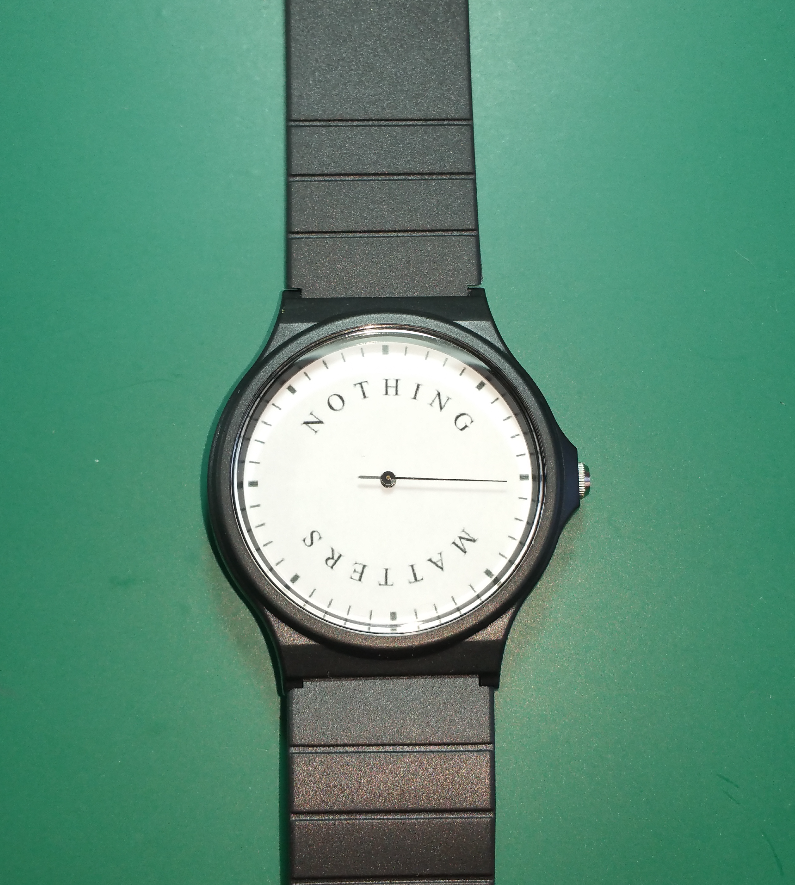 Image of NOTHING MATTERS WATCH