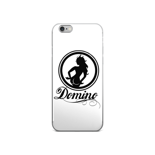 Image of WHITE DOMINO iPHONE CASE