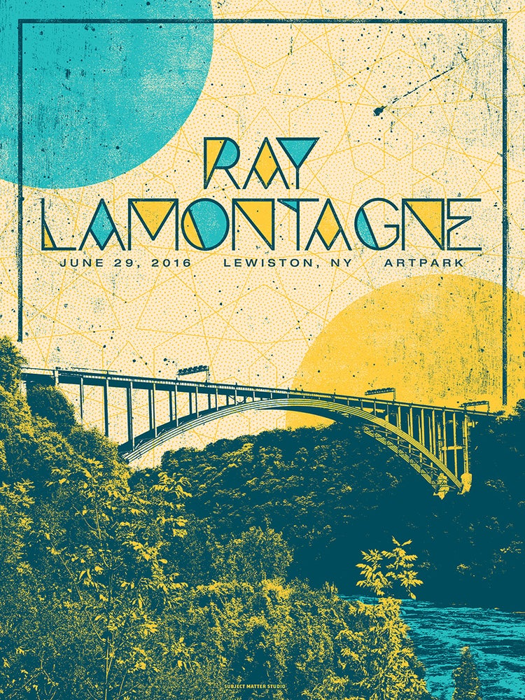 Image of Ray LaMontagne, Lewiston, NY, 06.29.16