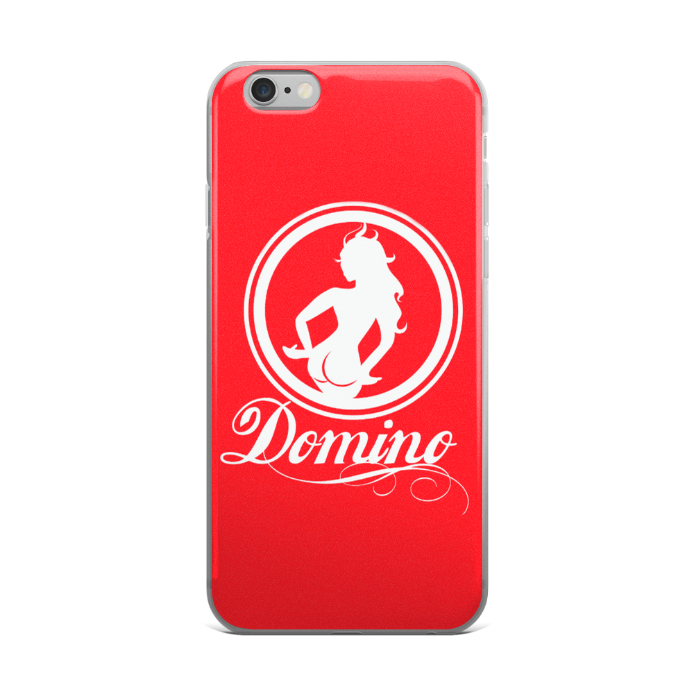 Image of RED DOMINO iPHONE CASE
