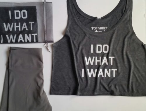 Image of I DO WHAT I WANT Flowy crops