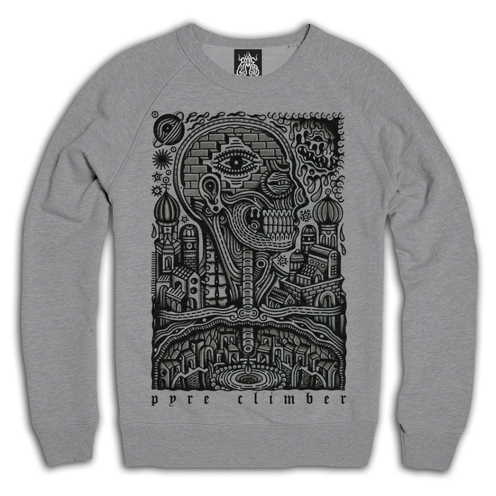 "Image of ""anatomy"" raglan crew neck"