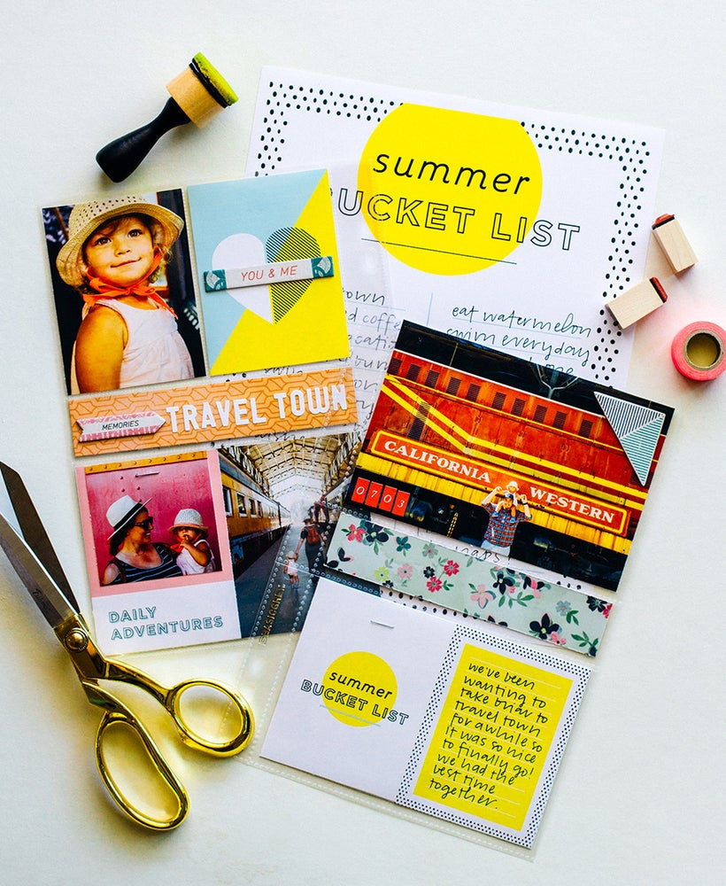Image of Summer Bucket List + Journaling Cards Printables