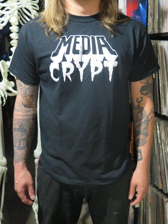 Image of MEDIA CRYPT Logo Shirt