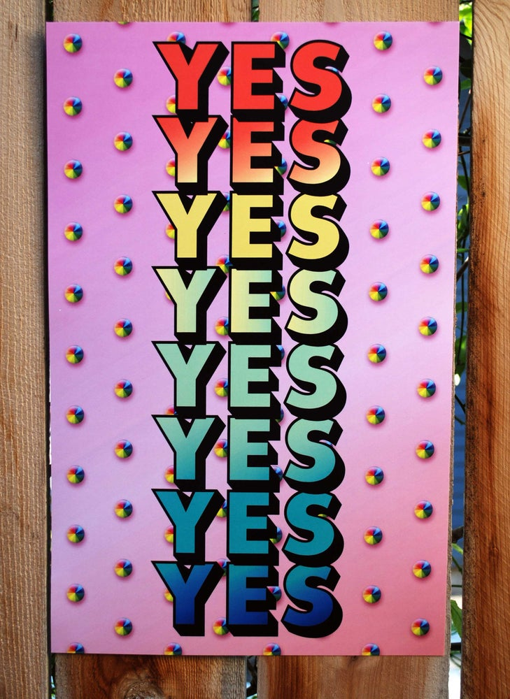 Image of YES Print