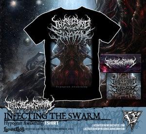 Image of INFECTING THE SWARM - Hypogean Awakening Tshirt
