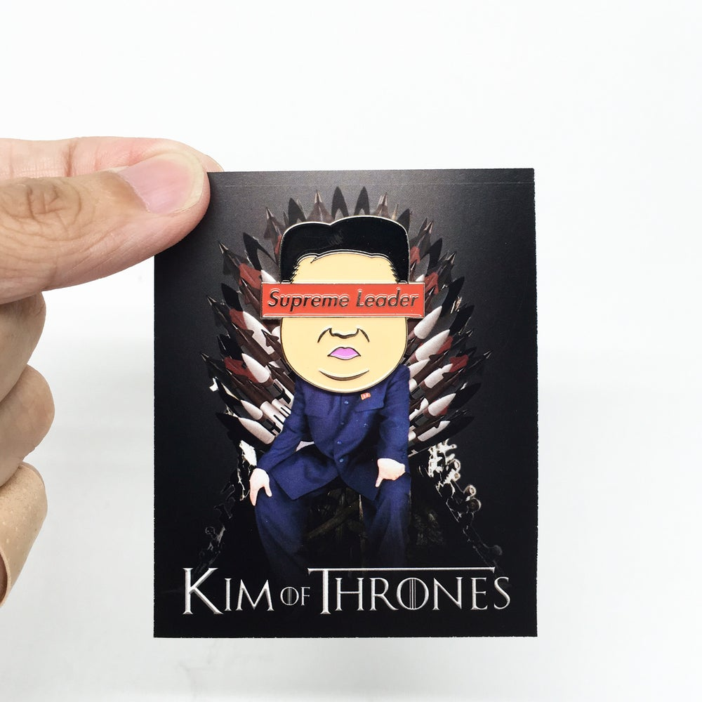 Image of Supreme Leader enamel pin