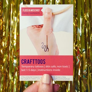 Image of Crafttoos temporary tattoos