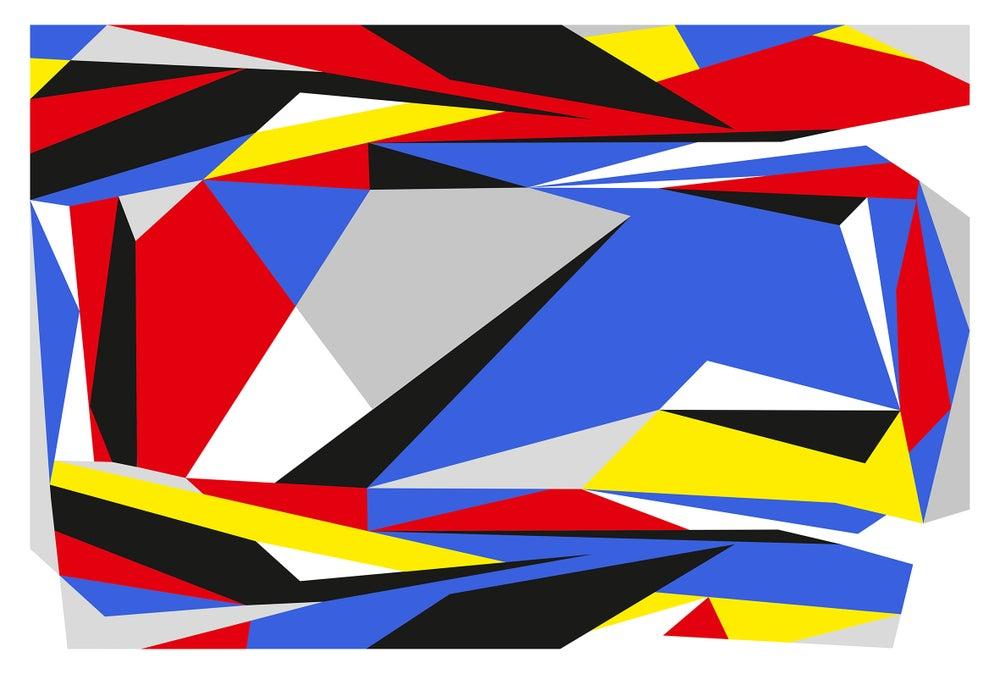 """Image of NOMONOCHROME project """"NMCVWG"""" signed print by JAIME GILI"""