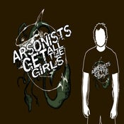 "Image of Arsonists Get All The Girls ""shark t-shirt"""
