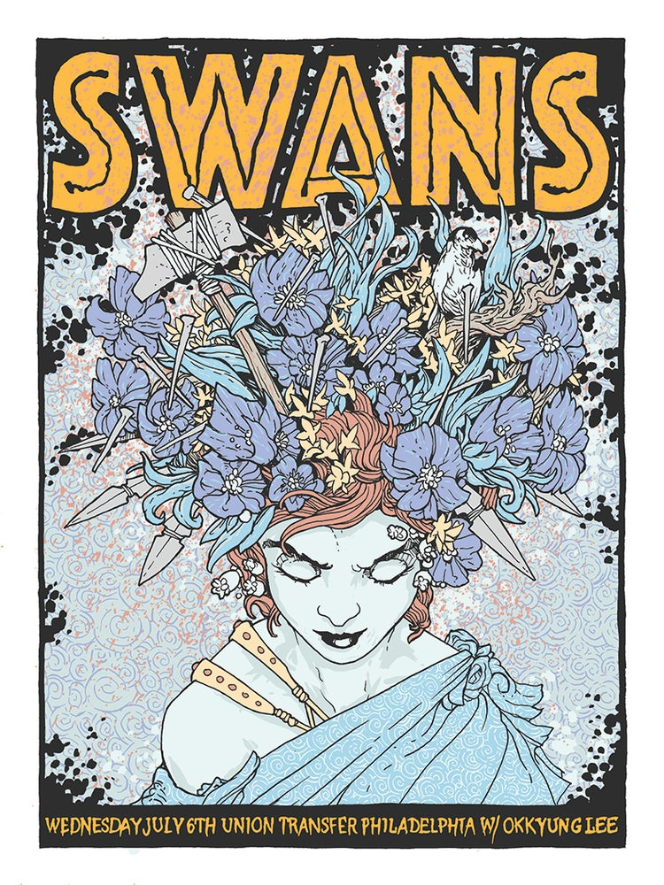 Image of Swans Gigposter 2016