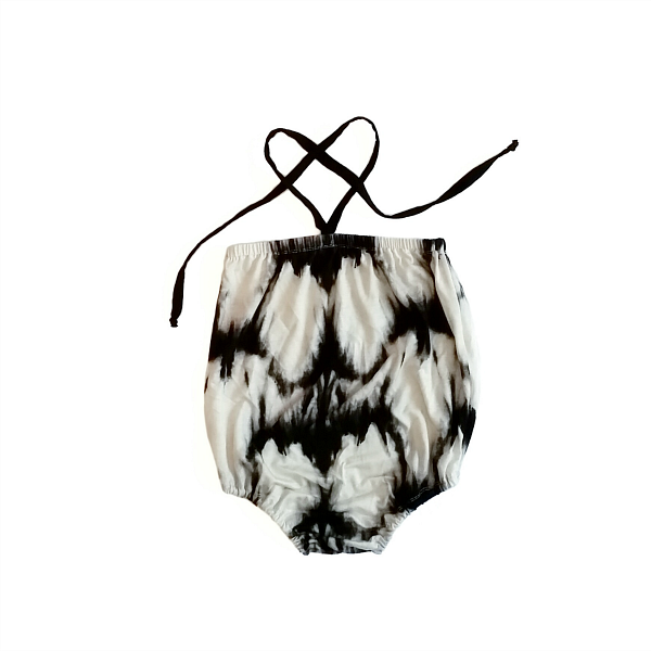 Image of Ink Bamboo Playsuit