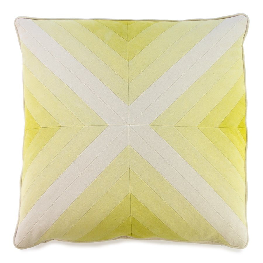 Image of Apex Pillow - Yellow I