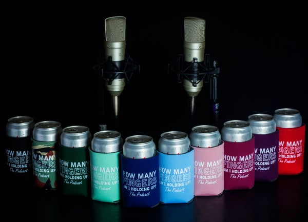Image of Collapsible Foam Koozie