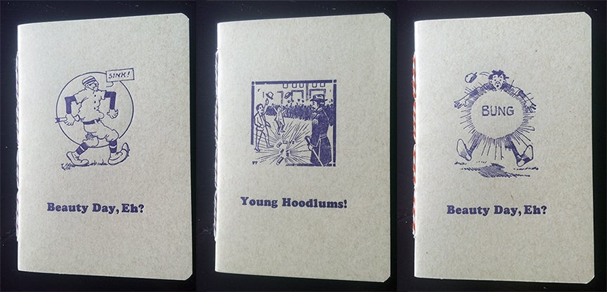 "Image of Handbound Letterpress Notebook (4x6"")"