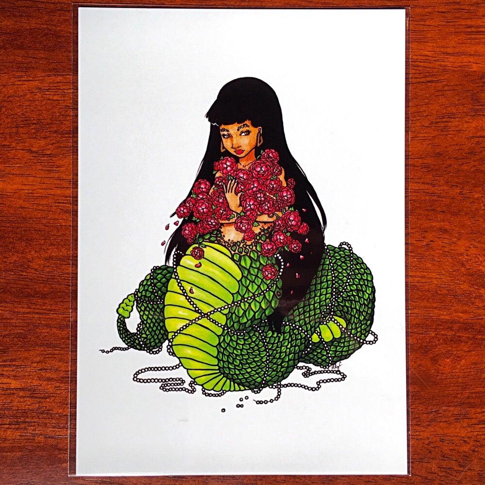 "Image of ""Naga"" Art Print |Lillian Cuda|"