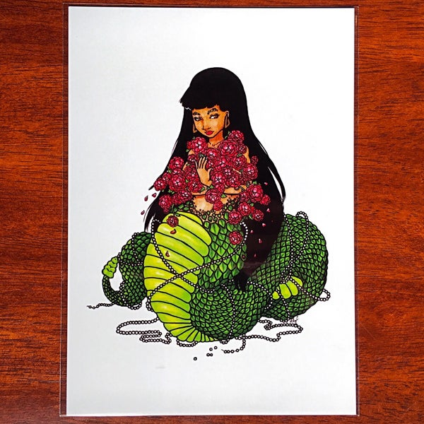 "Image of ""Naga"" Art Print 
