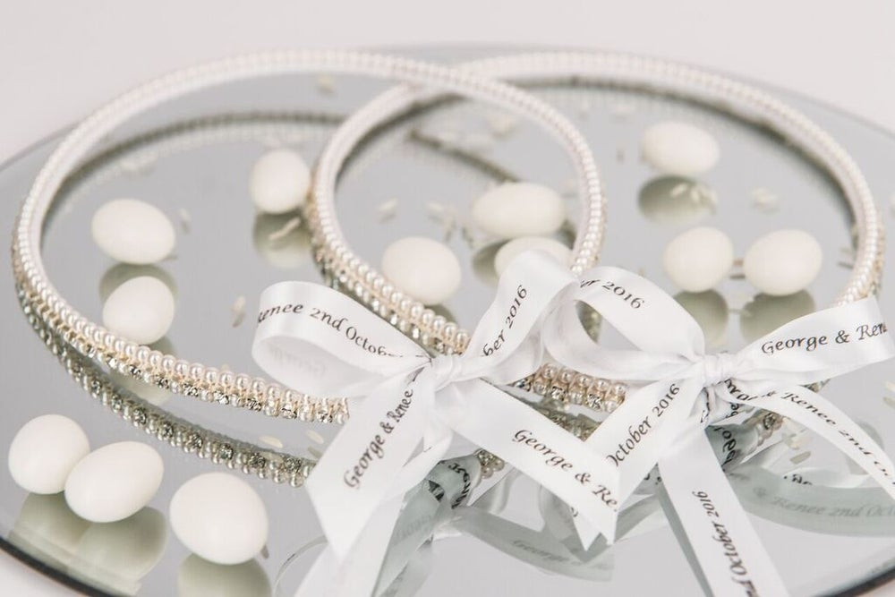 Image of Diamanté and Petite Swarovski Pearl Stefana