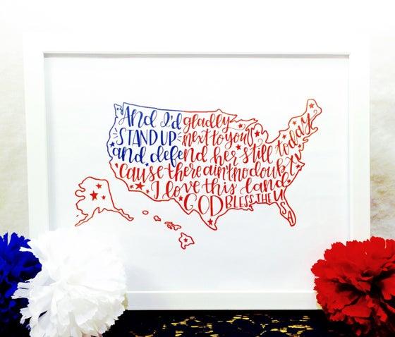 Image of USA Print