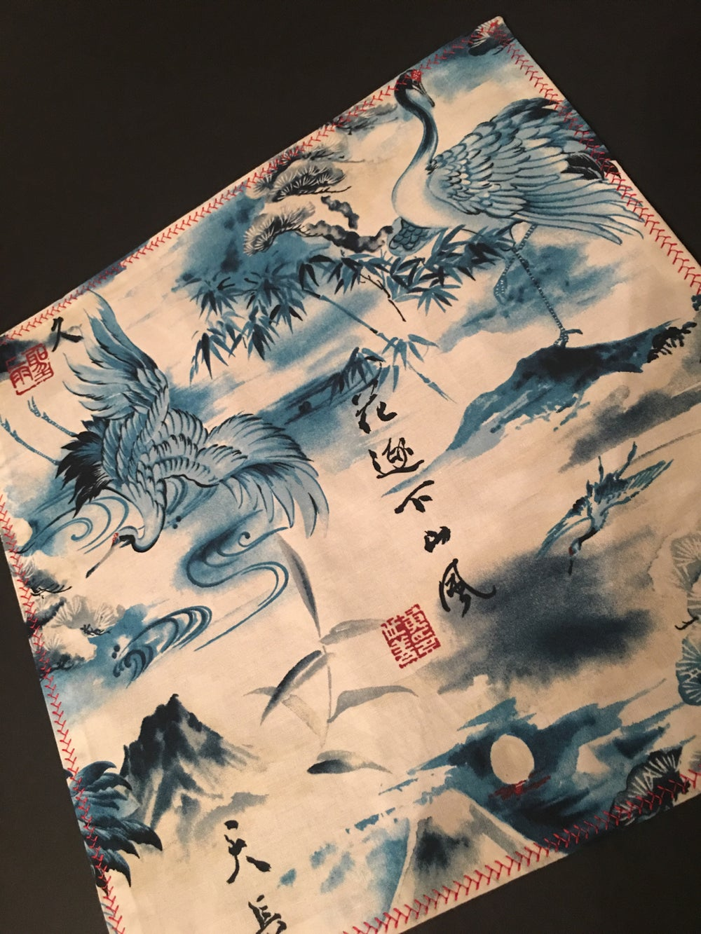 Image of Cranes and Dragons