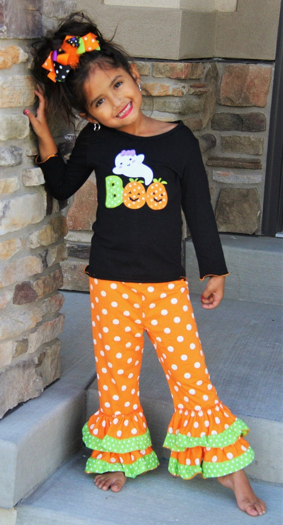 Infantile Boo Tiful Boutique Halloween Girl Outfit