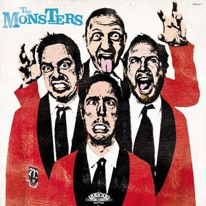 Image of LP & CD The Monsters : Pop Up Yours.   The 6th album.