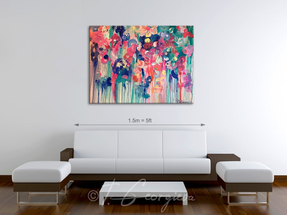 Image of Reef pacific - 90x120cm
