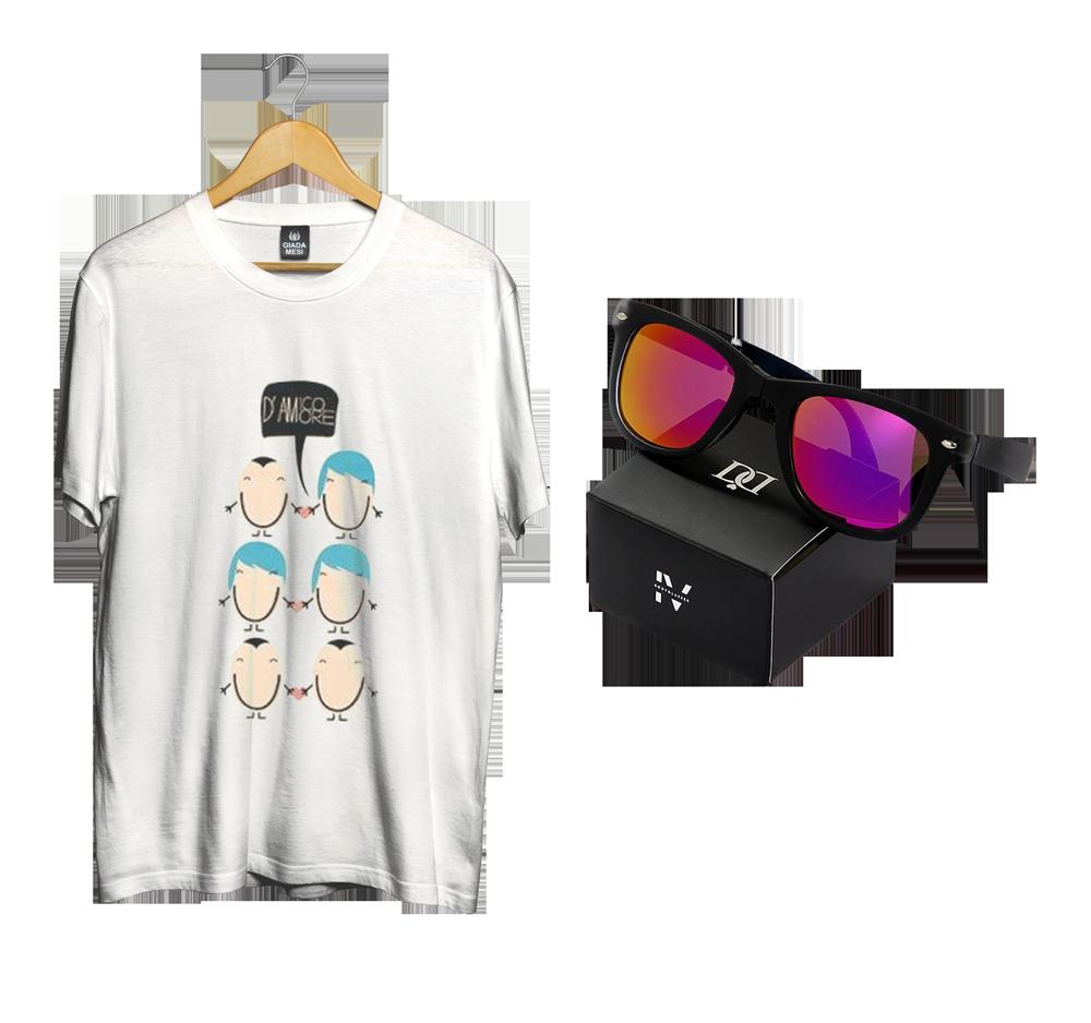 Image of BUNDLE DONNA | T-shirt D'Amore + Bodyglasses IV