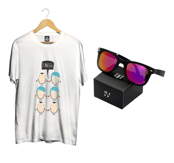 Image of BUNDLE DONNA | T-shirt D'Amore + Bodyglasses IV