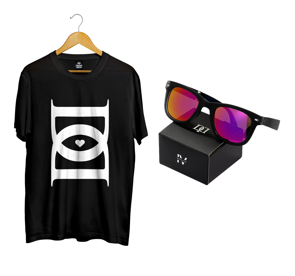 Image of BUNDLE | T-shirt D'D + Bodyglasses IV