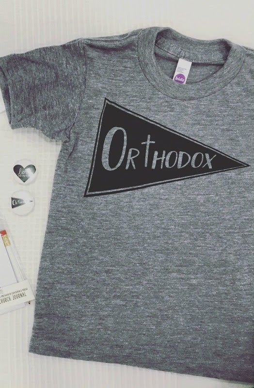 Image of Orthodox Pennant T-Shirt