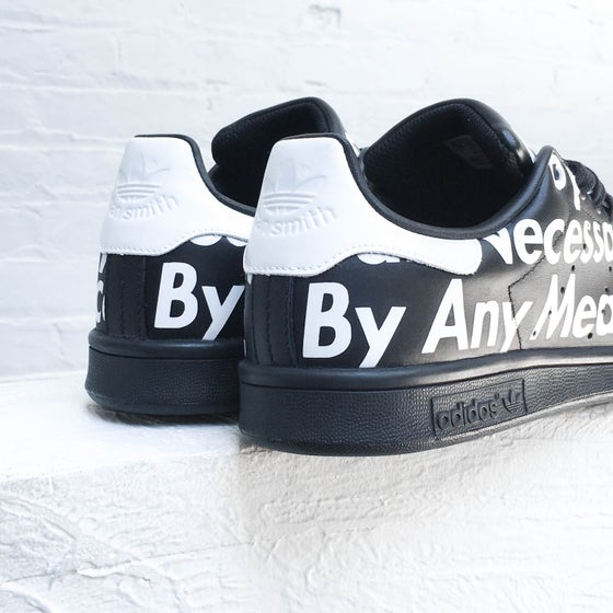 "Image of Adidas Stan Smith ""By Any Means Necessary"" // Sydney Kay"