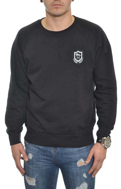 Image of Emblem Sweatshirt Black