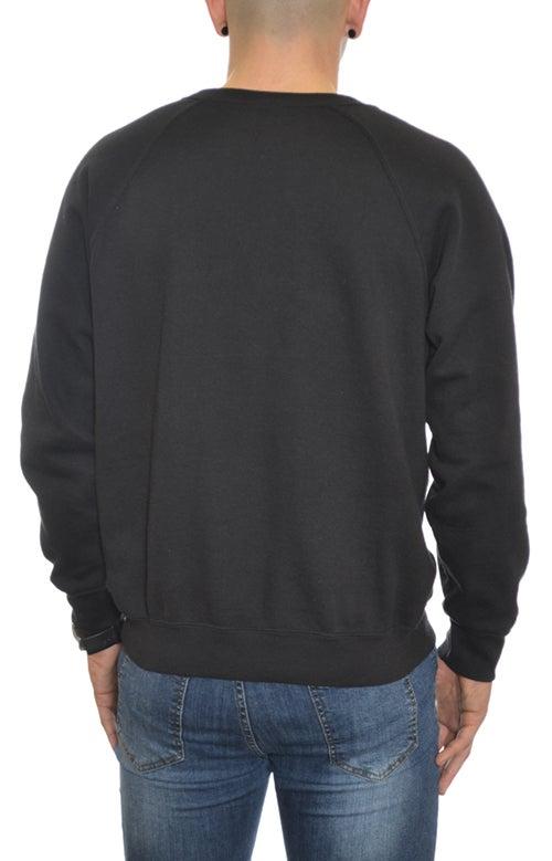 Image of Emblem Sweatshirt Black