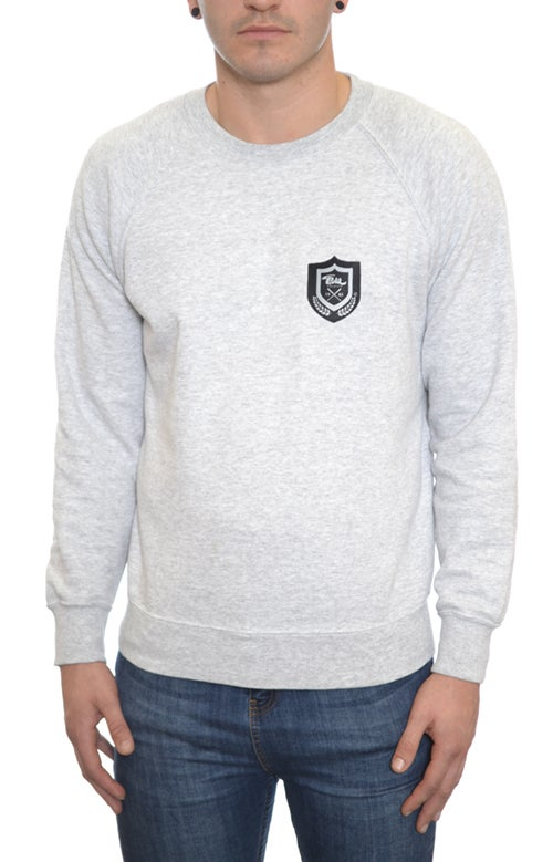 Image of Emblem Sweatshirt Grey