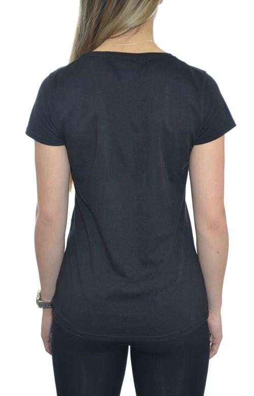 Image of OG Tshirt Black - Grey  Women
