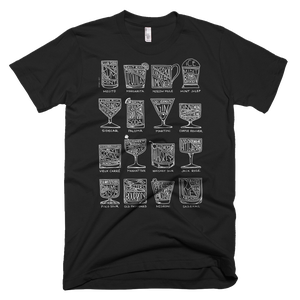 Image of Cocktail Diagram T-shirt