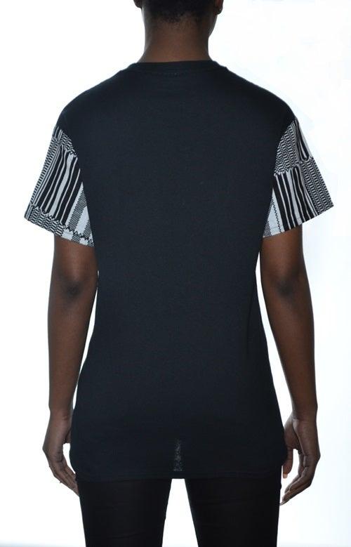 Image of KENTE T-shirt Black