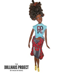Image of Dope Python Updo Fashion Collector Doll