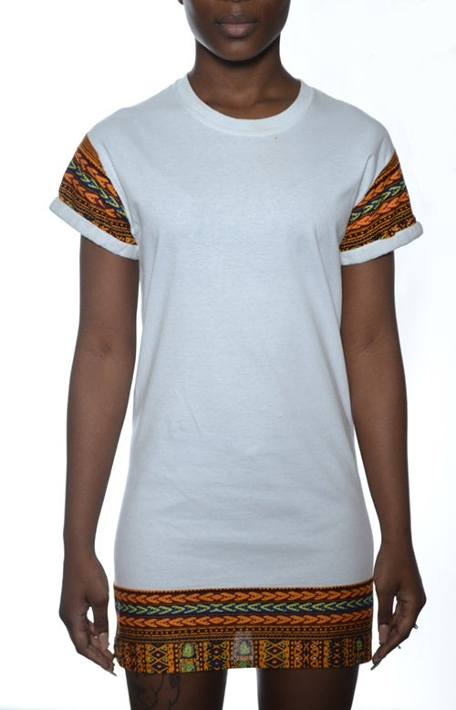 Image of DASHIKI Dress White