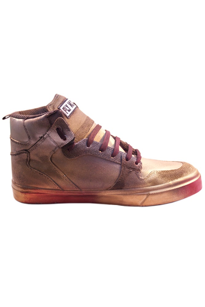 "Image of FM x C.A. 1 of 1 ""Mars Red"" Sneakers"