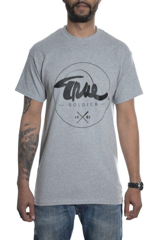 Image of League T-shirt Grey