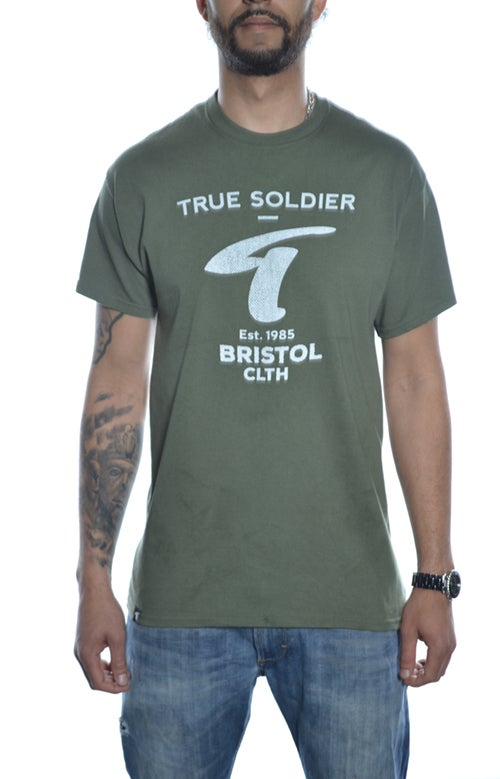 Image of Bristol  T-shirt Military Green