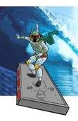 Image of Surfin' Boba Print