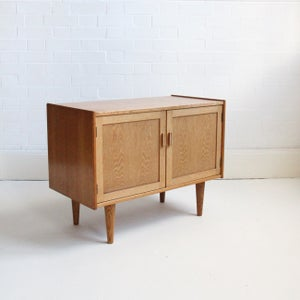 Image of mid century Norwegian cabinet / small sideboard (2 available)