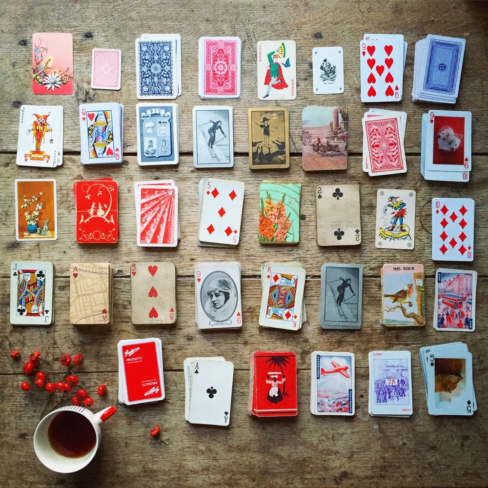 Image of 'Vintage Cards' - LIMITED EDITION, SIGNED PRINT